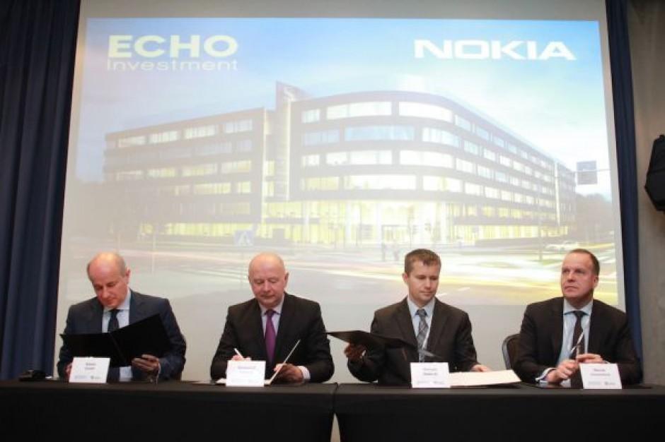 Nokia Networks najemcą West Gate - zdjęcia z podpisania umowy