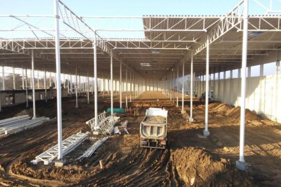 North-West Logistic Park: Hale budowane są zgodnie z harmonogramem