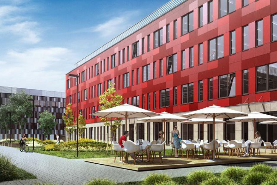 Trwa budowa trzeciej fazy Poleczki Business Park w Warszawie