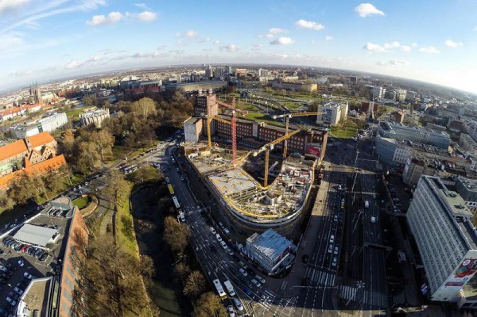 OVO Wrocław pnie się w górę - zobacz zdjęcia