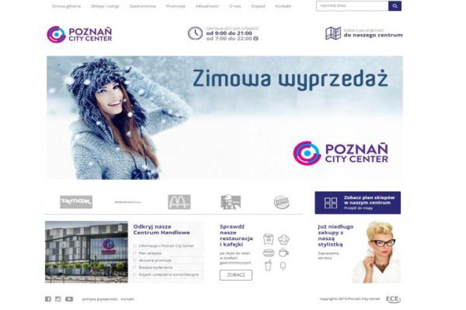 Poznań City Center odświeża wizerunek