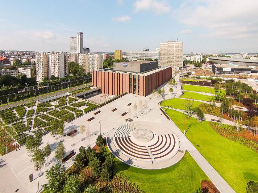 Katowicka Strefa Kultury (Foto: Archiwum UM Katowice)