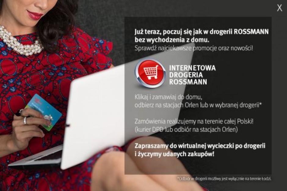 Rusza internetowy sklep Rossmanna