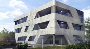 Oryginalny biurowiec rośnie w Krakowie