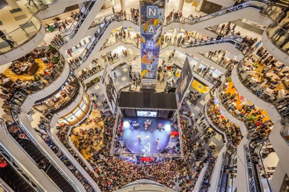 Centrum handlowe w wirtualnej rzeczywistości. Blue City w kolekcji Google