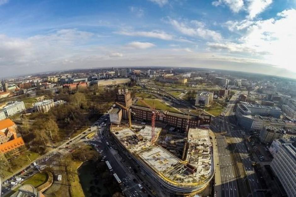 OVO Wrocław sięga już przedostatniej kondygnacji