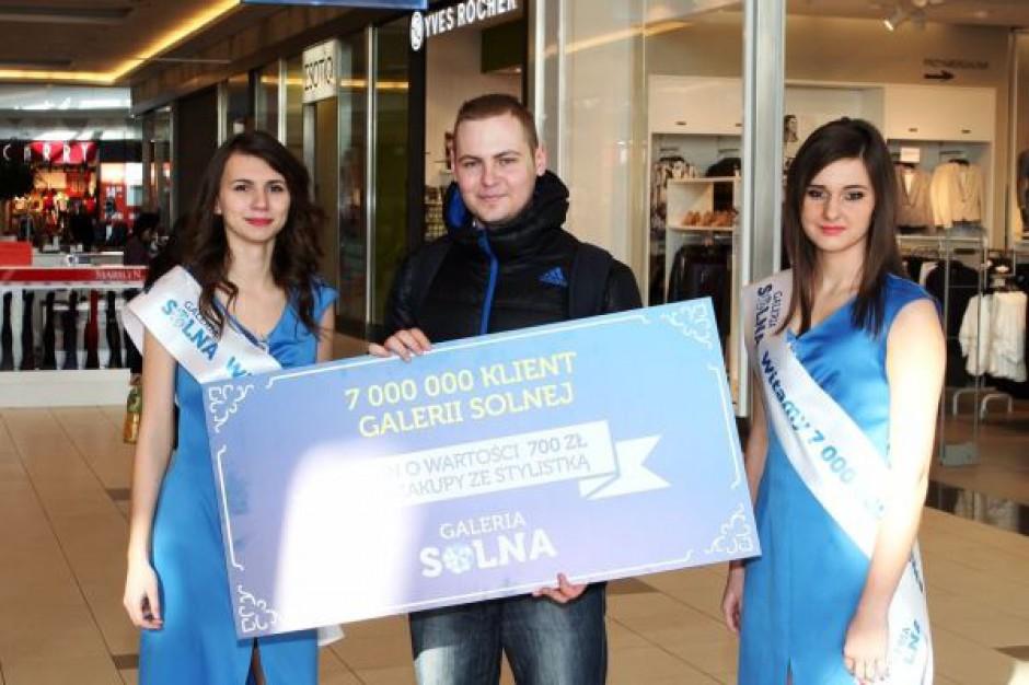 Galerię Solną odwiedziło już ponad 7 mln klientów