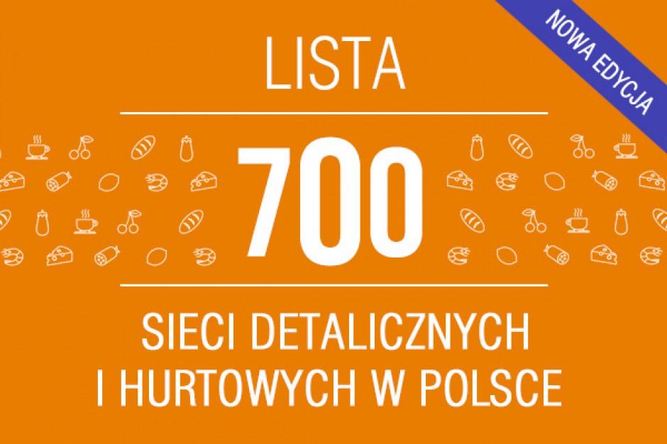 Ranking - 700 sieci detalicznych i hurtowych w Polsce