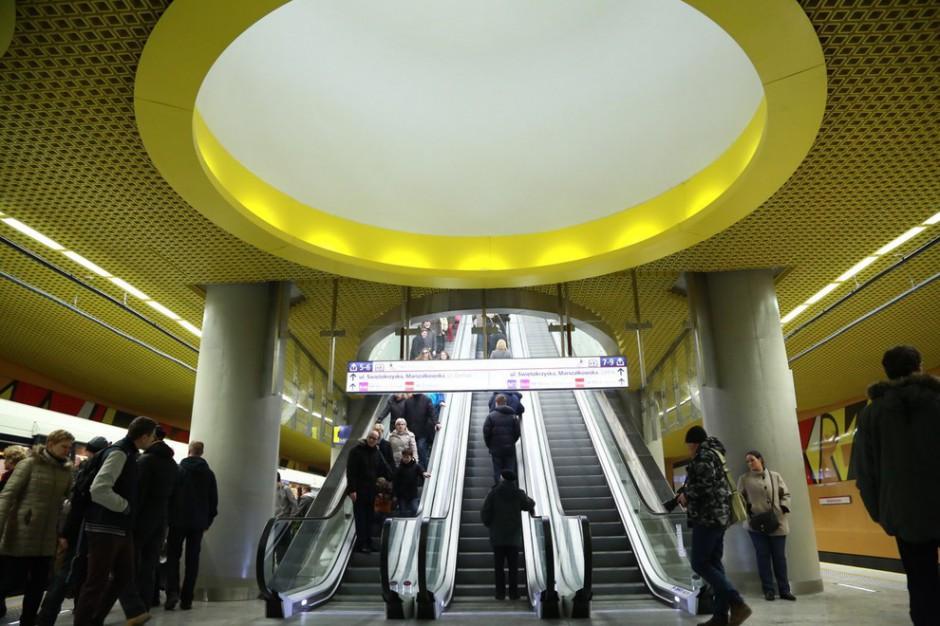 Warszawa z II linią metra