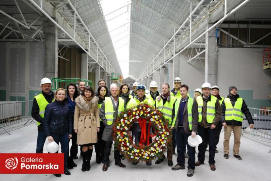 Budowa nowej części Galerii Pomorskiej weszła w ostatnią fazę