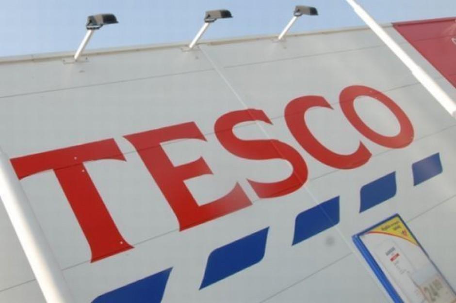 Tesco poprawia wyniki sprzedaży