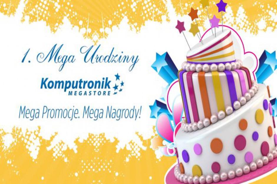 Komputronik Megastore w Poznaniu świętuje pierwszy rok działalności
