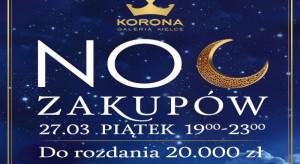 Noc zakupów w Galerii Korona Kielce