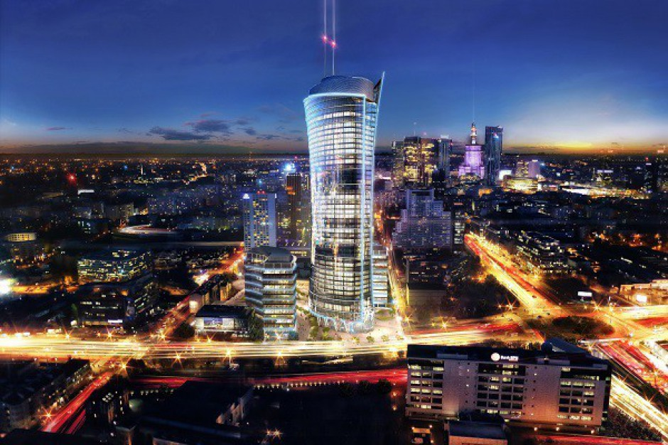 Postępuje komercjalizacja Warsaw Spire
