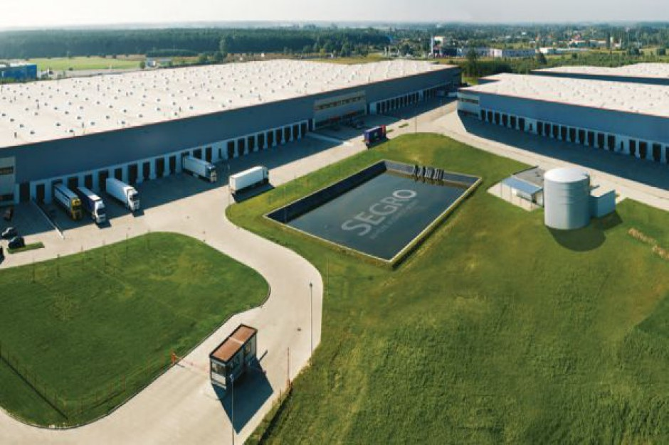 Powstaje BTS na terenie Segro Logistics Park Warsaw, Nadarzyn