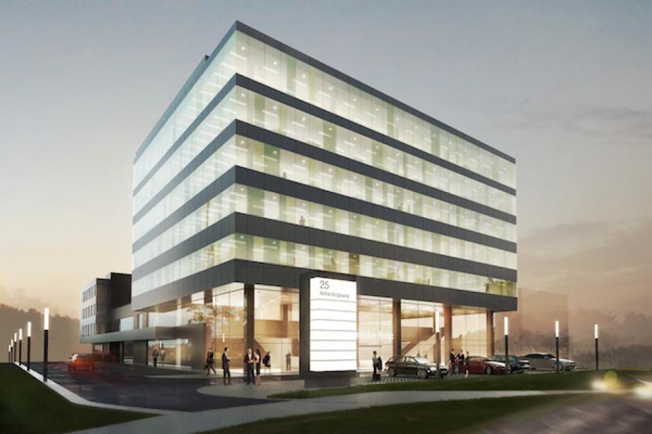 Krakowski biurowiec Principio z pozwoleniem na budowę