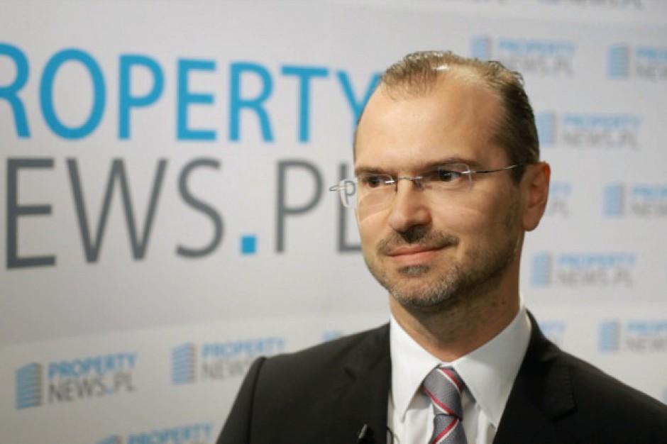 Szef Hines Polska o planach inwestycyjnych funduszu - wideo