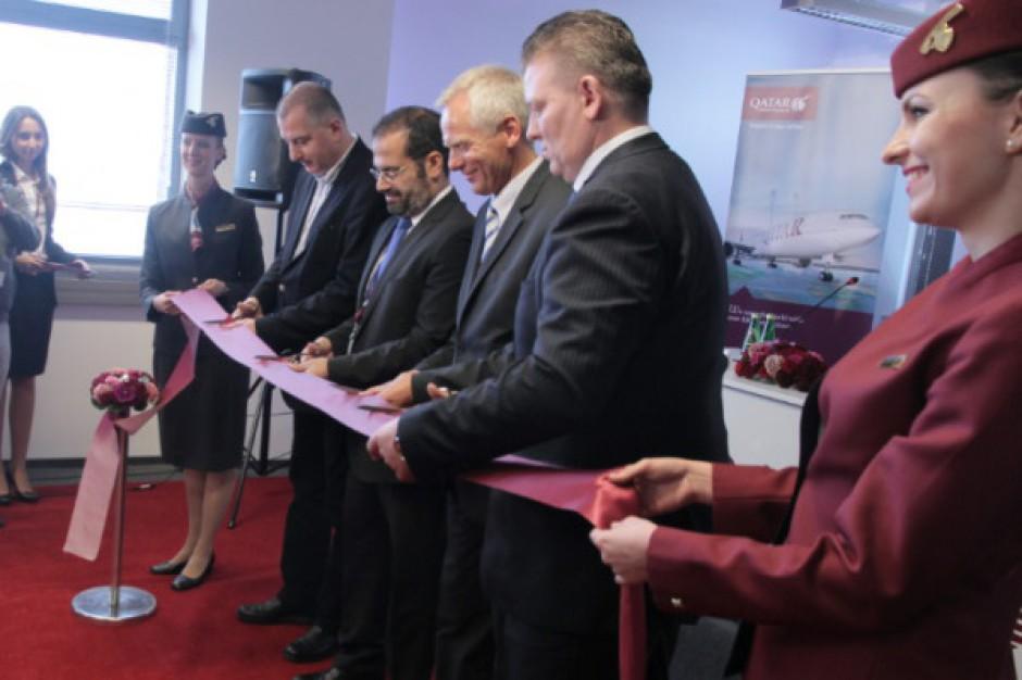 Europejskie Biuro Obsługi Klienta Qatar Airways oficjalnie otwarte - galeria zdjęć