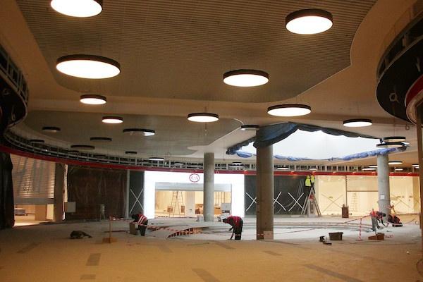Rozbudowane Auchan Łomianki już w maju