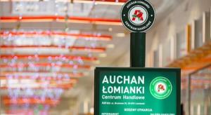 Rozbudowana galeria handlowa Auchan Łomianki otworzy podwoje