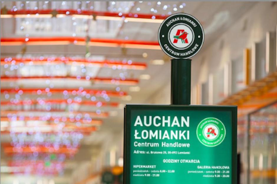 Wystartowało powiększone centrum handlowe Auchan w Łomiankach