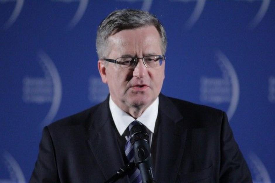 Prezydent Bronisław Komorowski otworzy obrady EEC 2015