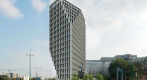 Postępują prace przy budowie biurowca Bałtyk