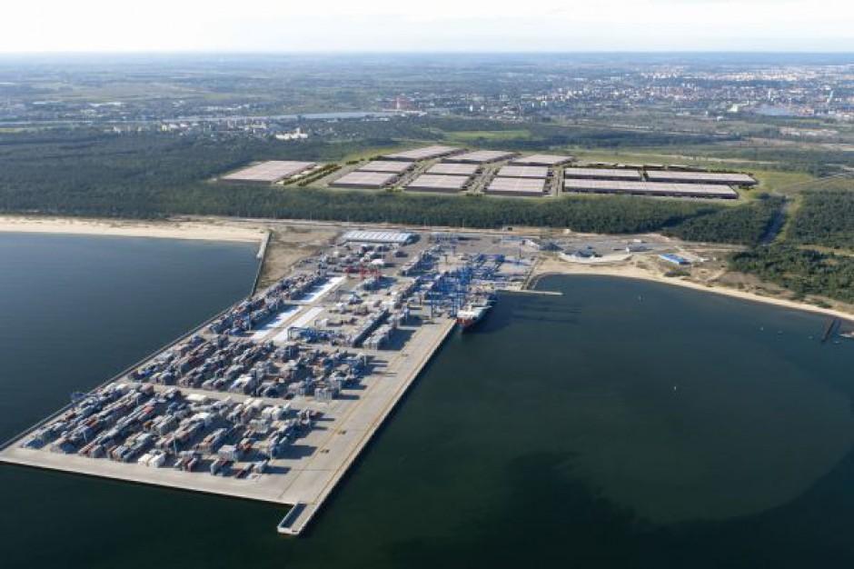 Blisko połowa magazynu spekulacyjnego w Pomorskim Centrum Logistycznym w Gdańsku wynajęta
