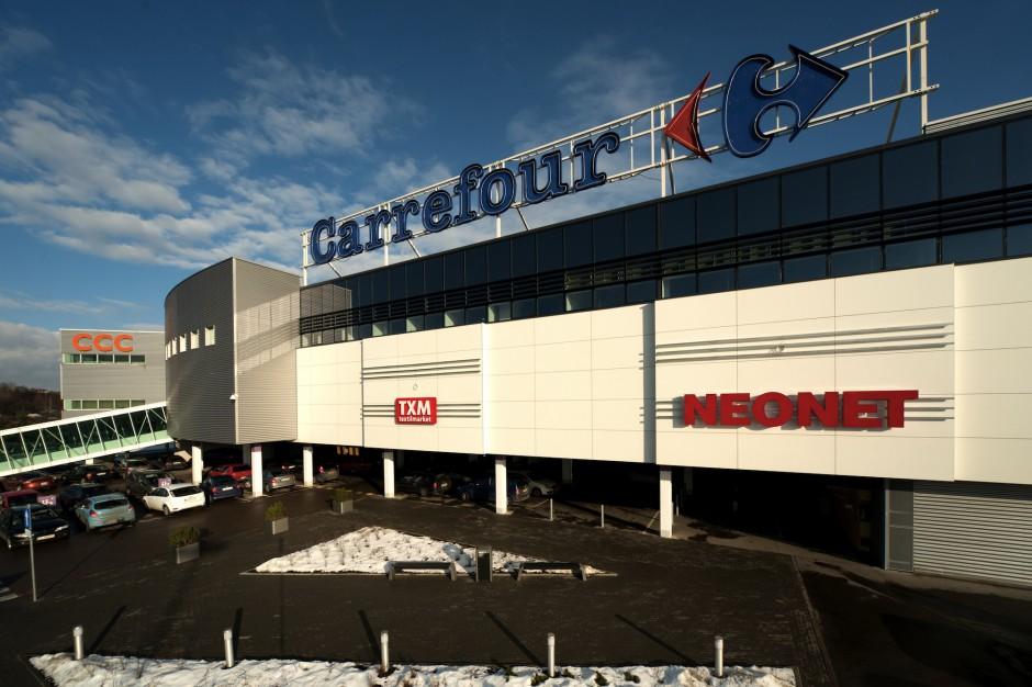 Sześć galerii handlowych Carrefour już pod remodellingu