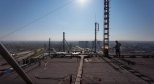 Biurowiec DOKP znika z panoramy Katowic - zdjęcia