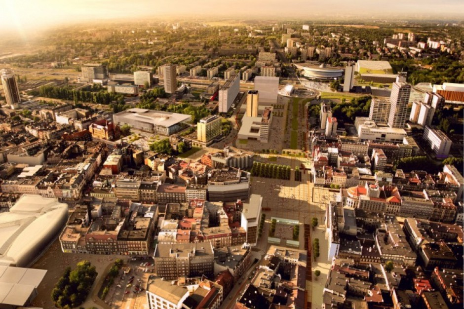 Katowice nie boją się centrów handlowych w śródmieściu