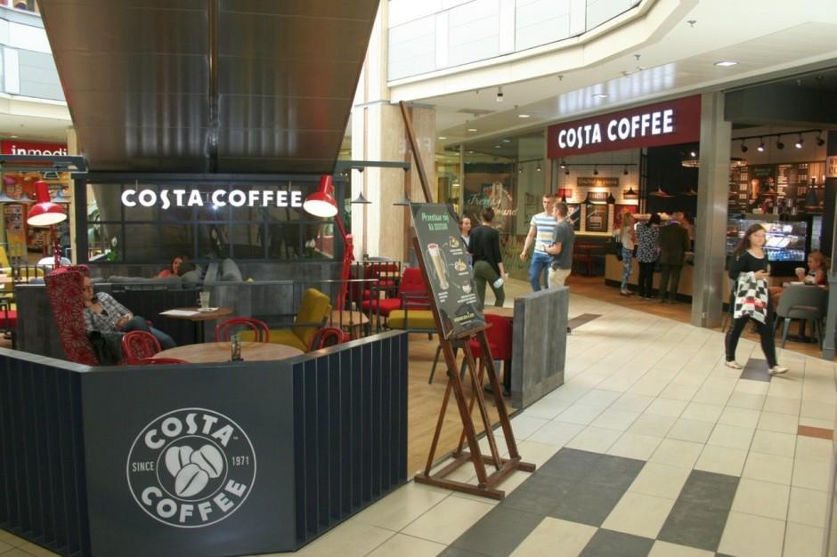 Costa Coffee ma już cztery kawiarnie w Krakowie