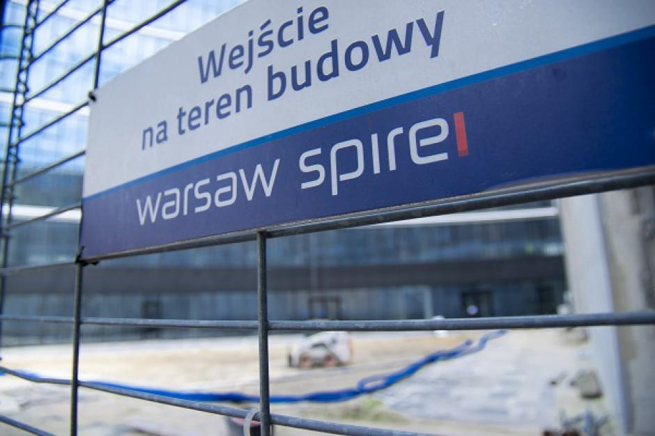 Na szczycie Warsaw Spire