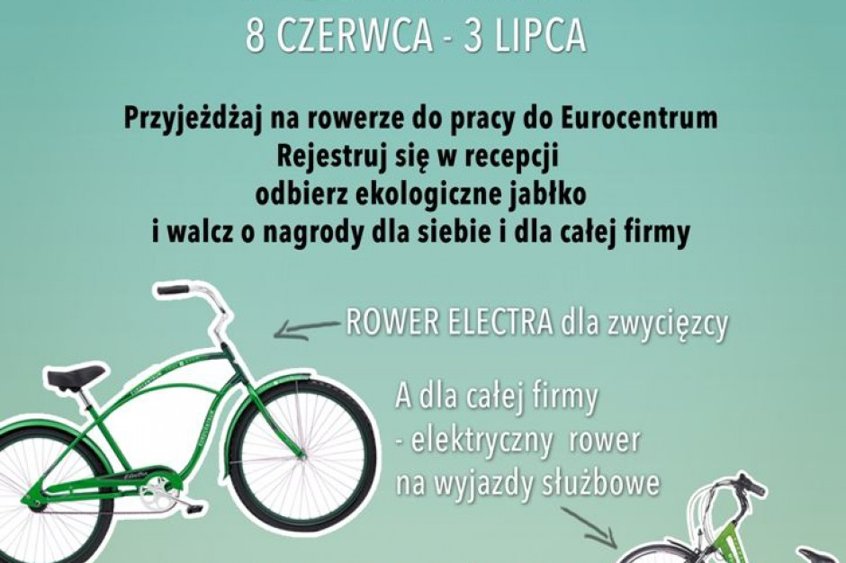 Eurocentrum promuje akcję Bike to Work