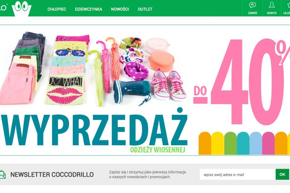 Coccodrillo zwiększa przychody i rozwija e-commerce