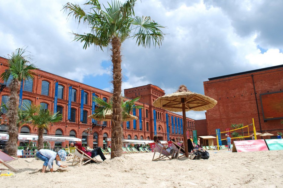 Manufaktura rozpoczyna sezon plażowy