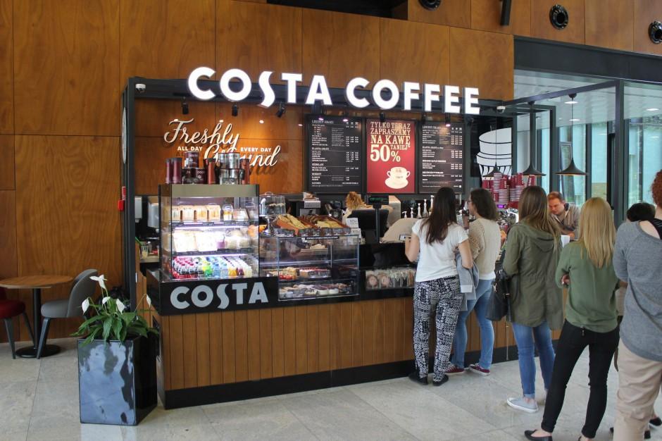 Costa Coffee z nowym lokalem w sercu Mokotowa