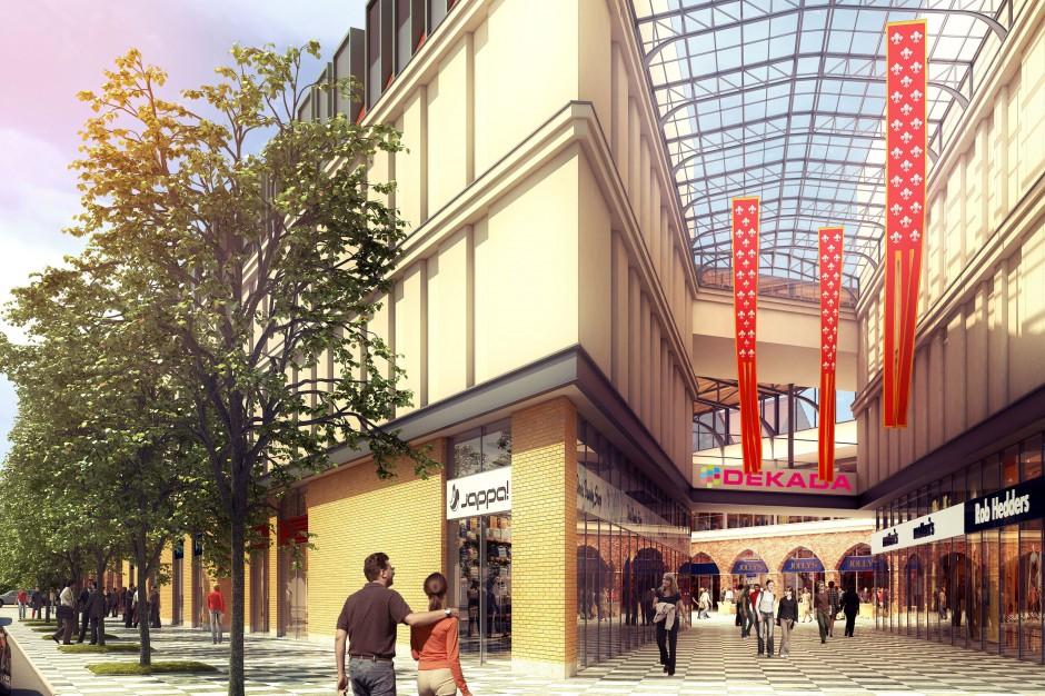 Budowa galerii handlowej Dekada w Nysie coraz bliżej realizacji