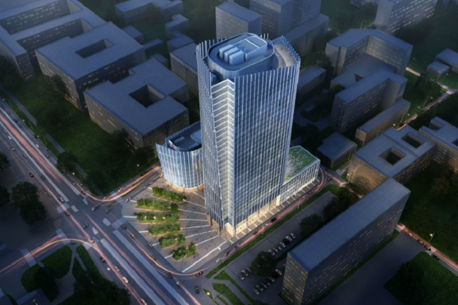 Mennica Legacy Tower - zobacz najnowsze wizualizacje