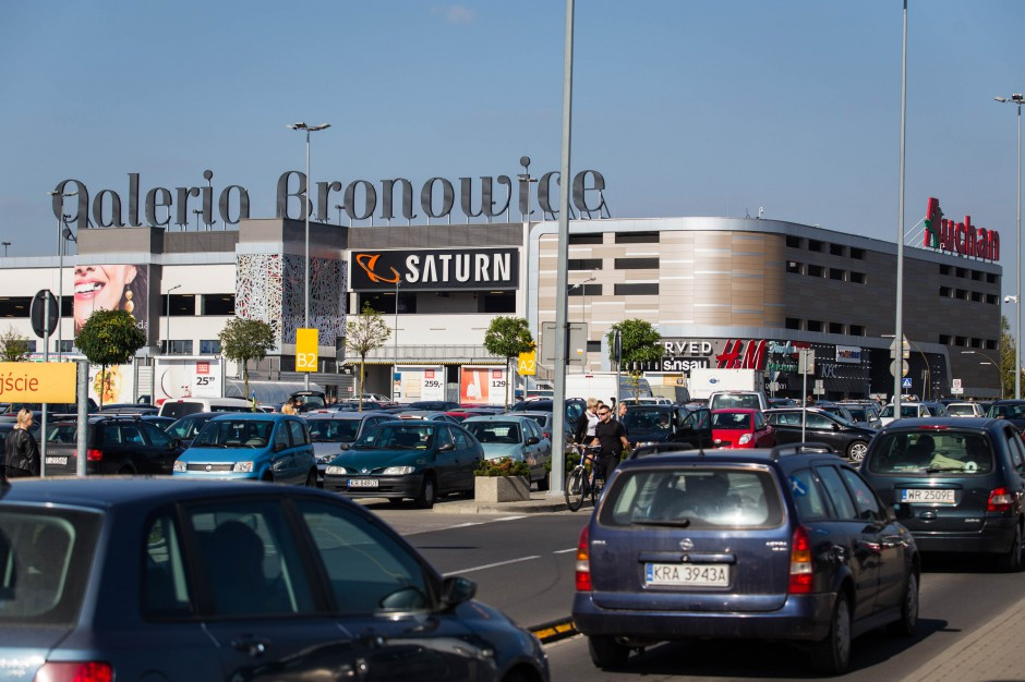 Krakowska galeria handlowa dodaje do swojej oferty... przegląd samochodu