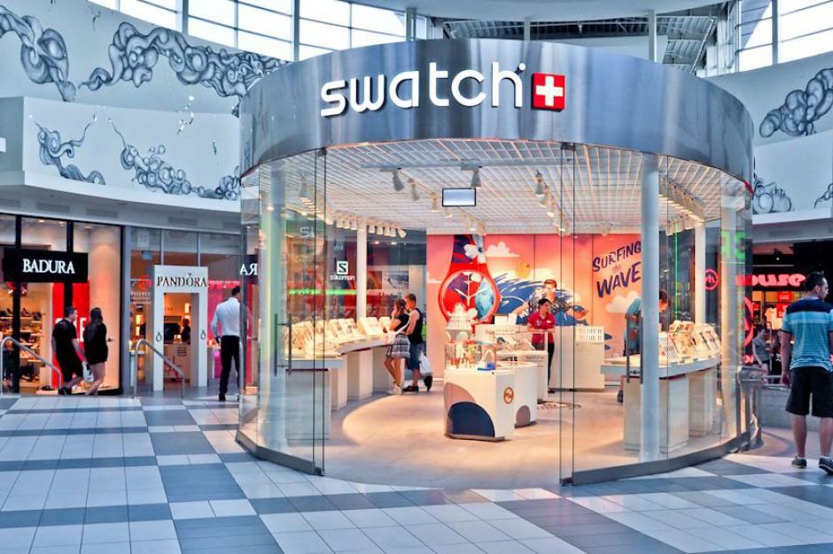 Swatch powiększa lokal w katowickiej galerii