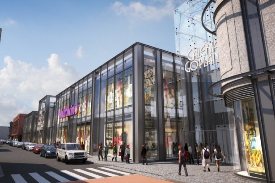 MGC nie rezygnuje z budowy Galerii Goplana