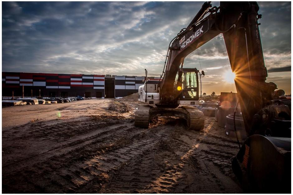 Budowa magazynu 7R w Kokotowie na finiszu