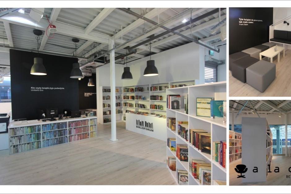 Jak urządzić bibliotekę w centrum handlowym?