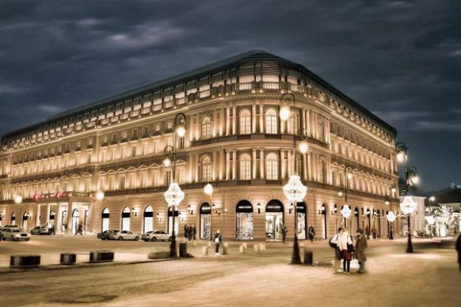 > Hotel Europejski de Varsovie.