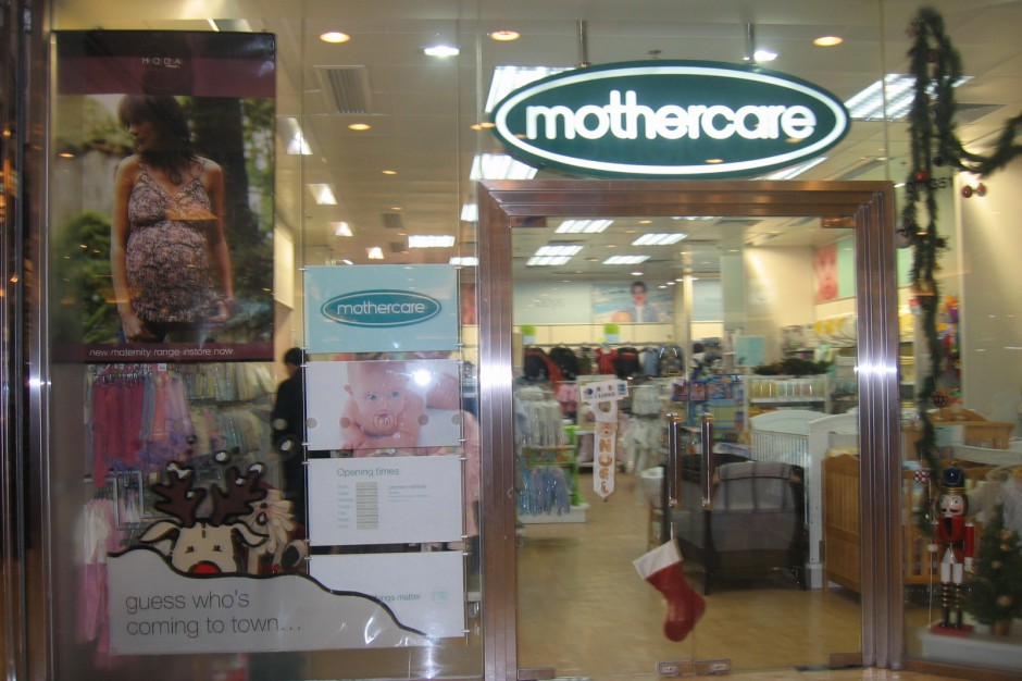 Mothercare sprzedaje towar za grosz