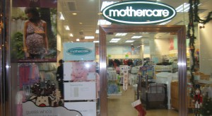 Mothercare na plusie