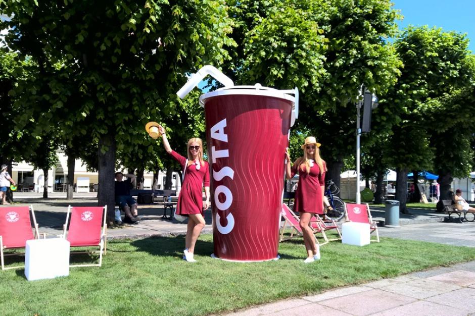 Costa Coffee wychodzi na ulice
