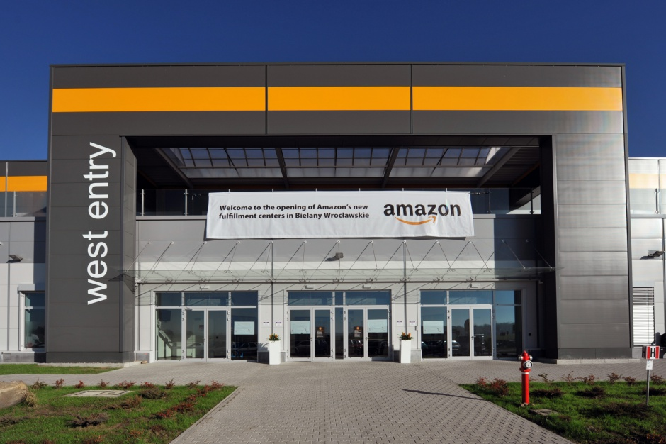 Amazon pozbył się pierwszego centrum logistycznego w Polsce