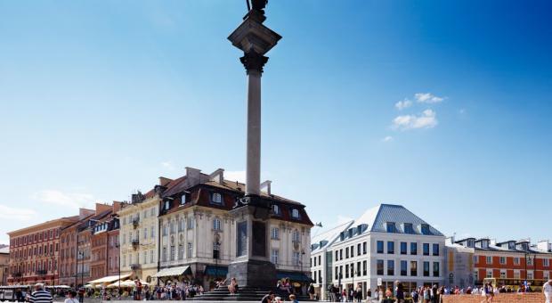 Plac Zamkowy doceniony - także za świeże powietrze